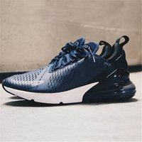Wholesale Women Trainers Sale - HOT SALE WITH BOX 2018 New Air 270 Flair Hot Punch Midnight Navy Women Mens Men Luxury Designer Running Brand Shoes Trainers Sneakers