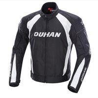 jaquetas reflexivas para homens venda por atacado-Dunham homens mortorcycle ce protetora engrenagem jaquetas moto forro avisando correndo roupas reflexivas calças de proteção