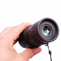 zoom hd 16 venda por atacado-Viagens 16x52 Monocular HD Telescópio Dupla Foco Zoom Poderoso Monocular Binóculos Alta vezes Para Observação de Pássaros Presentes Melhor