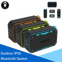 Wholesale phone reader resale online - Outdoor IP65 Hands Free Wireless Bluetooth Speaker Portable Waterproof Subwoofer Support TF Card FM Radio Aux With Hook Retail Box