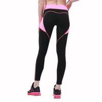 Wholesale Hot Nylon Leg - New Hot Women Quick Drying Gothic Leggings Fashion Ankle Length Legging Sport Fitness Leggings with Pocket