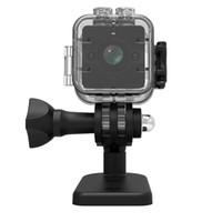 grabadoras de video al por mayor-SQ12 Mini Grabador de Cámara 1080 P HD Cámara Nocturna de Video por Infrarrojos Infrarroja Cámara de Video por Infrarrojos Multifunción de Seguridad a Prueba de Agua HD