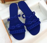 Wholesale ring hotels - H Brand Flat Kelly Ring Design with Box Original Quality Sandals France Brand Loafers Fashion Shoes Slippers by shoe001