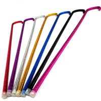 sopa borusu toptan satış-Popüler Renkli Belly Dance Cane 93 cm Yetişkinler Kadınlar Için Sopa PVC Plastik Boru Koltuk Değneği Yüksek Kalite 12xw T