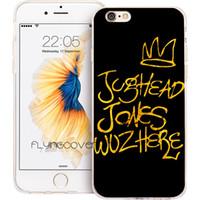 iphone 4s altın kılıf toptan satış-Coque Gold TV Riverdale iPhone 10 için Kılıfları Tırnaklar 10 X 7 8 Artı 5S 5 SE 6 6S Artı 5C 4S 4 iPod Touch 6 5 Temizle Yumuşak TPU Silikon Kapak.
