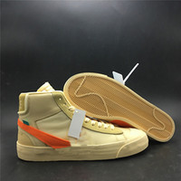 Wholesale whites sports resale online - with Box All Hallows Eve Mens and Womens Running Shoes Men White Yellow Black Brand Designer Sports Shoes Size US5