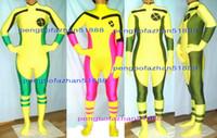 traje de spandex pícaro al por mayor-Sexy Rogue Body Suit Outfit Nuevo 3 Estilo Lycra Spandex Rogue X-Men Traje trajes de Catsuit Unisex X-Men Disfraces Sexy Rogue Bodysuit P169