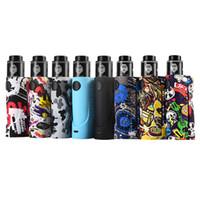 Wholesale black rda atomizer resale online - Vapor Storm ECO RDA Vape Kit Fashion Box Mod Kit Max W Graffiti Battery DIY Atomizer Vaporizer E Cigarette Stock Offer Authentic