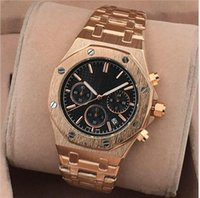 marcas de relojes deportivos hombre al por mayor-2018 Nuevo All Subdials Work AAA Men Relojes Hardlex Sport Relojes de pulsera de cuarzo Stopwatch Luxury Watch Top Marca para hombres relojes Best Gift