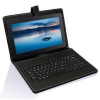 ingrosso tablet da 9,7 pollici quad core-Boda 9.7 pollici Quad Core Android 6.0 Tablet 16 GB Bluetooth Sim card GPS Phone Bundle Tastiera regalo gratuito Coperchio tastiera