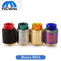 Wholesale fixing screws - Authentic Vandyvape Bonza RDA Tank 24mm Diameter The Vaping Bogan with Squonk Pin Setup Fixed Screw Champ Post 100% Origin