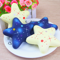 Wholesale Folk Star - Creative PU Stars Squishy Decompression Toys Cute Five Pointed Star Squishies Hand Squeezed Toy Children Christma Gift 13 8dy C