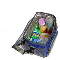 Wholesale cool packaging boxes - 2018 Waterproof insulation package picnic lunch beverage insulation cooler Tote bag 500ML portable bag lunch box 6 color