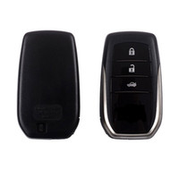 Wholesale toyota smart remote key cover - Toyota Land Cruiser remote keyless car key cover case shell Remote smart Car Key Shell Case Fob 3 Buttons For Toyota Land Cruiser