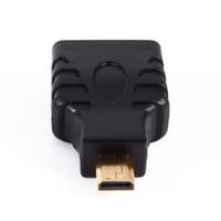 hdmi dönüştürücüleri toptan satış-VBESTLIFE Ses HDMI Kabloları Mikro HDMI erkek hdmi kadın Fiş Adaptörü Altın Kaplama Konnektör Adaptörü Dönüştürücü için HDTV TV KUTUSU