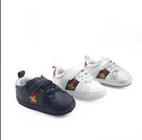 детская обувь оптовых-Розничная весна и осень спортивная детская обувь Newborn Boys Girls First Walkers Infantil Toddler 2019 Мягкая подошва Prewalker Кроссовки для 0-18M