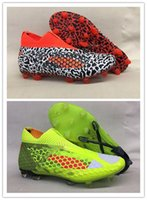 Wholesale Football Pins - New evoSPEED 1.4 SL FG Orange New NETFIT Future 18.1 FG pin men Football EvoSPEED SL Football Shoes Soccer