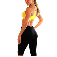 9ca1b0f2fd Womens Slimming Pants Hot Thermo Neoprene Sweat Shaper Slimming Pants   Vest    Sleeve Super Stretch control DropShipping