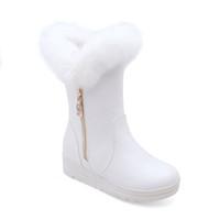 chica modelo nueva gratis al por mayor-3 colores nuevo envío libre venta al por mayor modelo suela baja zapatos de tacón precio de fábrica largo moda niña botas de nieve de las mujeres calzado de lana