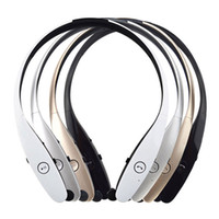 Wholesale lg hbs white - Tone Infinim HBS-900 Wireless Stereo Headset Wireless Bluetooth Headphones In-Ear Earphones For LG HBS900 With LOGO   Retail Packaging
