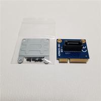 adaptador mini sata ssd venda por atacado-10 pçs / lote mSATA para SATA Conversor Cartão Mini SATA para 7Pin SATA Adaptador para 2.5