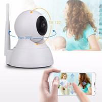 caméra à distance ptz achat en gros de-OLOEY 720P Caméra IP 1200tvl Caméra de surveillance Caméras de vidéosurveillance PTZ Camara IP iOS Android Remote View Wifi Blanc Noir