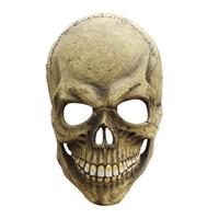 maskenspielzeug zum verkauf großhandel-Heißer Verkauf Scary Latex Schädel Maske Halloween Masken Realistische Latex Party Maske Horror Cosplay Spielzeug Requisiten Halloween Decor Liefert A40