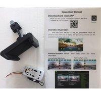 motorlu tezgahlar toptan satış-Uzaktan Kumanda 2MP wifi kamera FY602 F504 S5 S10 X5C-1 Oyuncak Aksesuarları RC Helikopter telefon HD kamera ile Manuel hediye drone standı