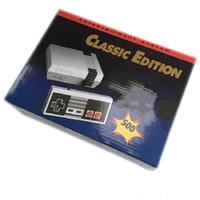 les derniers jeux vidéo achat en gros de-Console de jeux vidéo classique avec console de jeux vidéo le plus récent Système classique de jeux pour 500 nouvelles édition du modèle NES Consoles de jeu