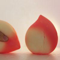 pfirsich rose charme großhandel-Scented Peach Squishies 7cm Handytasche Charm Soft Jumbo Kawaii Squishy Slow Rising Für Kind 1 9rb BB