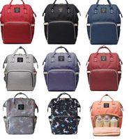 çok işlevli anne çantası toptan satış-Bezi Çanta Unicorn Çok Fonksiyonlu Seyahat Sırt Çantası Nappy Çantalar Bebek Bakımı Sırt Çantaları için Unicorn Sırt Çantası Moda Mumya Sırt Çantası KKA4041