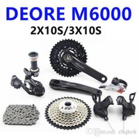 Wholesale mountain bike kit - SHIMANO NEW !! DEORE M6000 2x10S   3X10S Gear 11-42T MTB Mountain Bike Bike Kit Groupset shimano