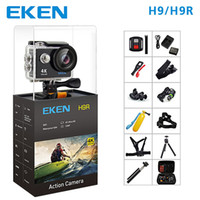 Wholesale mini hd video camera waterproof resale online - EKEN H9 Action Sport Camera H9R wifi Ultra HD Mini Cam K FPS p fps P FPS underwater Waterproof Video Sports Camera