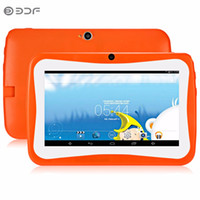 Wholesale cheap android tablet for sale - 2018 BDF Inch Cheap and Simple Children s Tablet PC Education Android GB Flash Quad core Learning entertainment tablet Pc