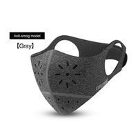 máscara de bicicleta de boca al por mayor-Nuevo Cycling Face Mask Cover Bike Máscara transpirable antipolvo PM 2.5 Protección Muñeca-Muffle Soft Bicycle
