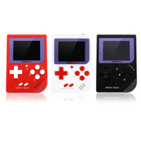 Wholesale Nes Lcd - CoolBaby RS-6 Portable Retro Mini Handheld Game Console 8 bit Color LCD Game Player For FC Game free shipping