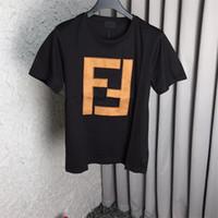 ingrosso camicia di combattimento collo del collo-Maglietta del progettista degli uomini Maglietta estiva Magliette di marca Maglietta manica corta da uomo e da donna Abbigliamento Lettera Maglietta girocollo stampata T-shirt di design