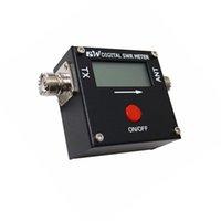 medidor de rádio venda por atacado-Mini Medidor de Energia Digital SWR 199 W AM / FM / SSB / CW 1.6-60 MHz para 2-way radio rádio móvel Digital swr meter 2017A