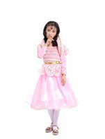 Wholesale children s fancy clothing for sale - The Devil and Miss Jones cosplay costume for kids pink dress cosplay fancy princess dress Halloween child clothes