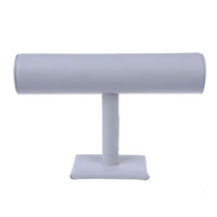 "Wholesale White Bracelet Holder - Bracelet Jewelry White Display Rack Stand Holder 10x6"" HOT"