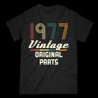 ingrosso t-shirt maniche corte-T-shirt vintage da uomo retrò anni '70 41 ° compleanno Tee vecchio