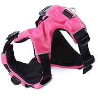 Wholesale Dog Pull Harness - Supplies Dog Down Parkas Secure Design High Quality Mutil-Colors 3 Sizes No-Pull Padded Comfortable Outdoor Pet Dog Harness Vest