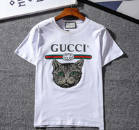 Wholesale teddy bears shirt - High quality women's T-shirt short-sleeved T-shirt and teddy bear printed T-shirt celebrity t-shirts with the same paragraph t-shirts
