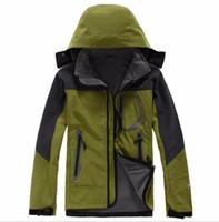 chaquetas impermeables calientes para hombre al por mayor-2018 Mens north Denali Fleece Apex Bionic Chaquetas exterior a prueba de viento a prueba de agua Casual SoftShell Warm Face Coats Ladies
