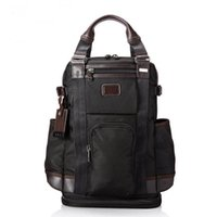 Wholesale highest laptop online - High Quality Ballistic Nylon Backpack for Men Outdoor Casual Travel Business Rucksack Handbag Laptop Bag Tumi