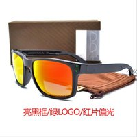Wholesale OO9102 frog skins Sunglasses TR90 UV400 Sports Sun Glasses Polarized cycling glasses Fashion Cycling Eyewear with case Outdoor bike goggles