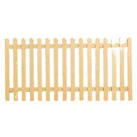 ingrosso recinzione di giardinaggio-1/12 Dollhouse Miniature DIY fitment Recinzione da giardino in legno