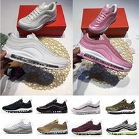 Wholesale Running Items - best sellers good items Air 97 Undftd Undefeated Triple white Running shoes grey Silver Bullet Mens trainer Women running Shoe discount