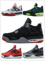 Wholesale Genuine Killer - Wholesale 4 4s Pure Money Alternate 89 Oreo Toro Bravo Basketball Shoes Newest release for kyrie sport Shoes killer