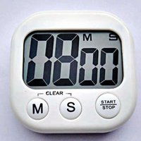 magnetic timer al por mayor-Temporizadores de cocina Pantalla LED digital Volumen ajustable Volver Magnético Fuerte Temporizador de apagado automático Recordatorio multicolor ZA5940